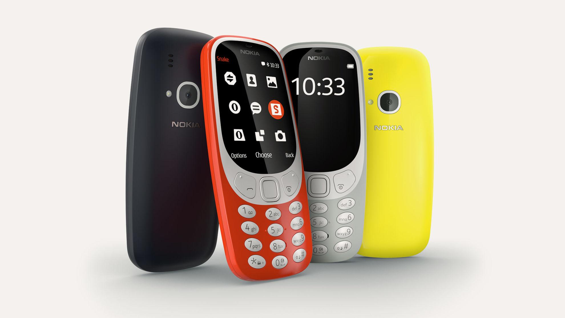 Nokia 3310: el clásico que renace de sus cenizas