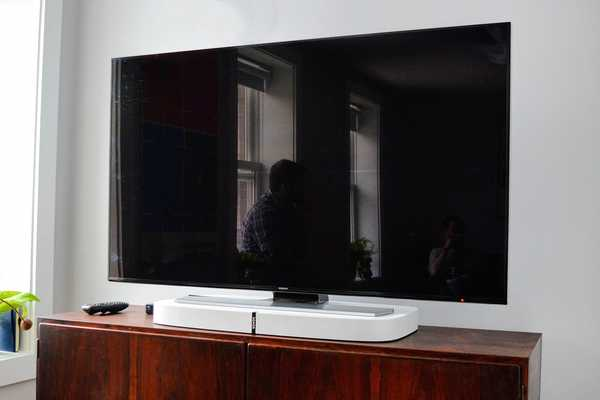 Sonos Playbase, barra de sonido y reproductor en red bajo tu TV
