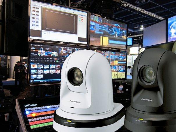 Panasonic lanza una nueva gama de cámaras PTZ profesionales